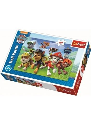Trefl Trefl 60 Parça Paw Patrol Çocuk Puzzle Renkli